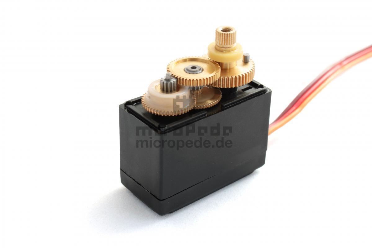 micropede | 6 achs knickarm roboter bausatz r-a